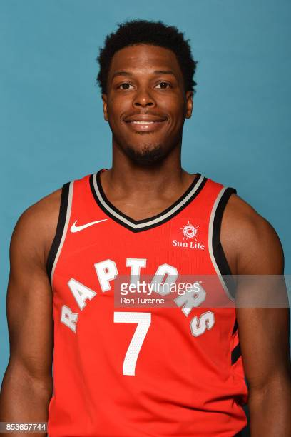 Kyle Lowry of the Toronto Raptors poses for a head shot during Media Day on September 25 2017 at the BioSteel Centre in Toronto Ontario Canada NOTE...