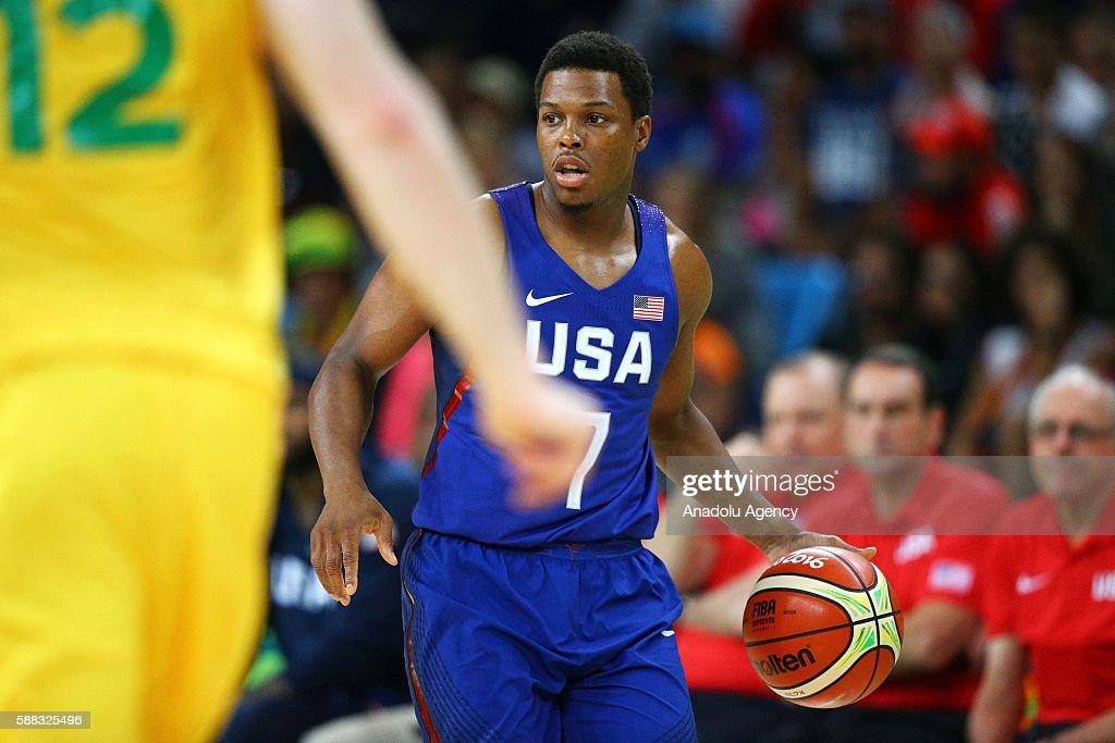 USA vs Australia: Rio 2016 Olympic Games Men's Basketball : News Photo