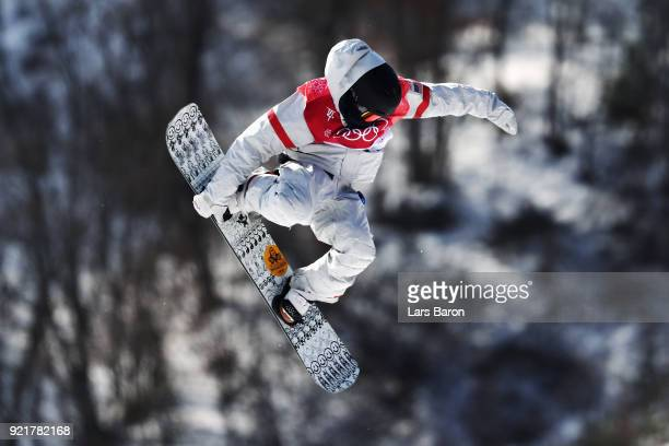 Kyle Mack of the United States competes during the Men's Big Air Qualification Heat 1 on day 12 of the PyeongChang 2018 Winter Olympic Games at...