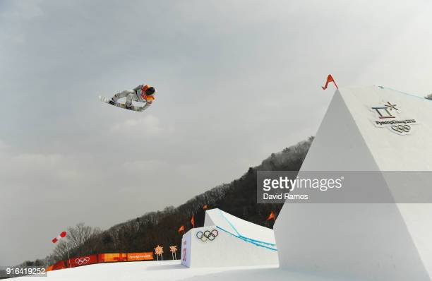 Kyle Mack of the United States competes during the Men's Slopestyle qualification on day one of the PyeongChang 2018 Winter Olympic Games at Phoenix...