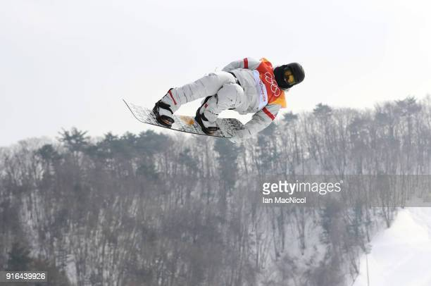 Kyle Mack of United States competes during the Men's Slopestyle qualification on day one of the PyeongChang 2018 Winter Olympic Games at Bokwang Snow...