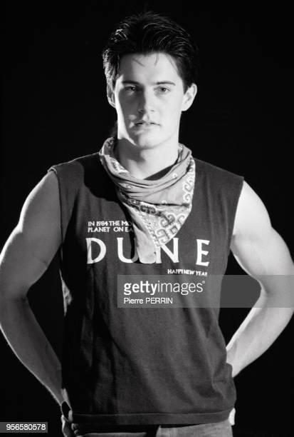 Kyle MacLachlan, acteur, lors du tournage du film 'Dune' en décembre 1984 à Londres, Royaume-Uni.
