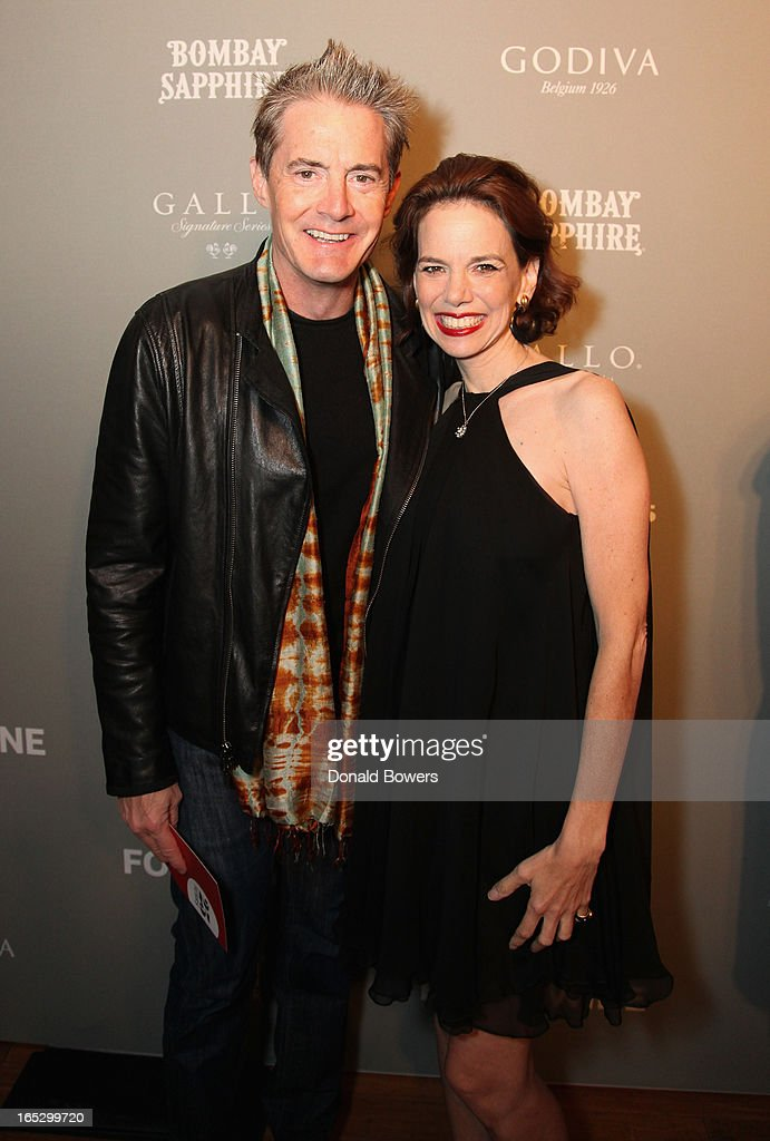 Kyle MacLachlan and Dana Cowin attend The FOOD & WINE 2013 Best New Chefs Party at Pranna Restaurant on April 5, 2013 in New York City.