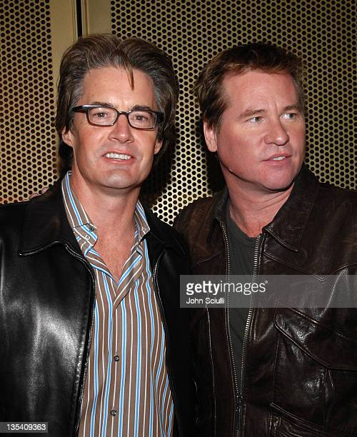 Kyle MacLachlan and Val Kilmer in celebration of the December 12 DVD release of 'The Doors 15th Anniversary Edition'