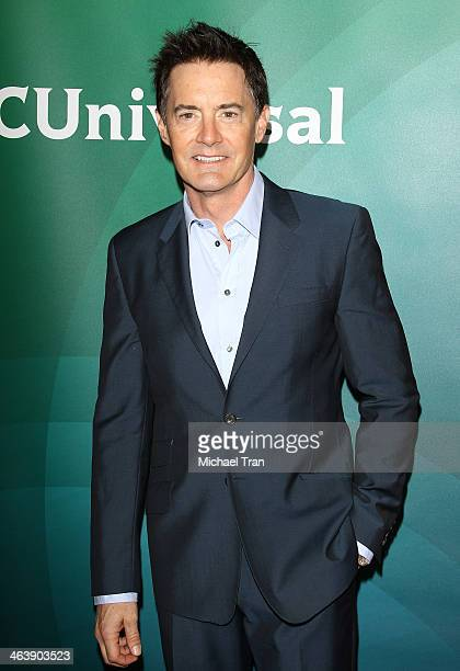 Kyle MacLachlan arrives at the NBC/Universal 2014 TCA Winter press tour held at The Langham Huntington Hotel and Spa on January 19 2014 in Pasadena...