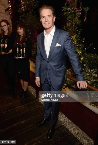 Kyle MacLachlan at Moet Celebrates The 75th Anniversary of The Golden Globes Award Season at Catch LA on November 15 2017 in West Hollywood California