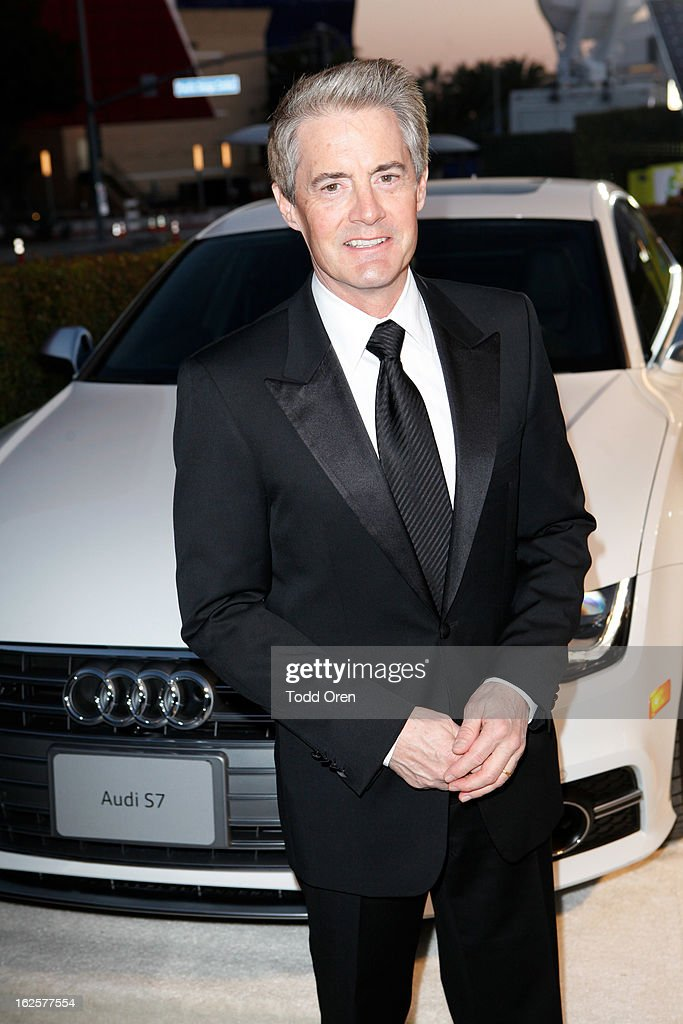 Kyle MacLachlan attends Audi at 21st Annual Elton John AIDS Foundation Academy Awards Viewing Party at West Hollywood Park on February 24, 2013 in West Hollywood, California.