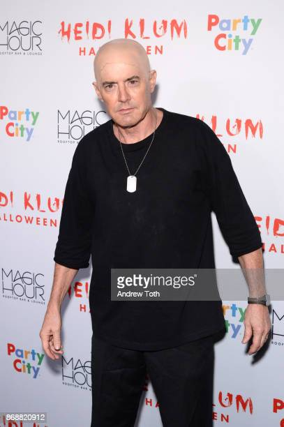 Kyle MacLachlan attends Heidi Klum's 18th annual Halloween party at Magic Hour Rooftop Bar Lounge on October 31 2017 in New York City