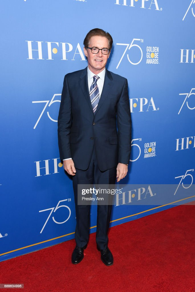 Hollywood Foreign Press Association Hosts Annual Holiday Party And Golden Globes 75th Anniversary Special Screening - Arrivals
