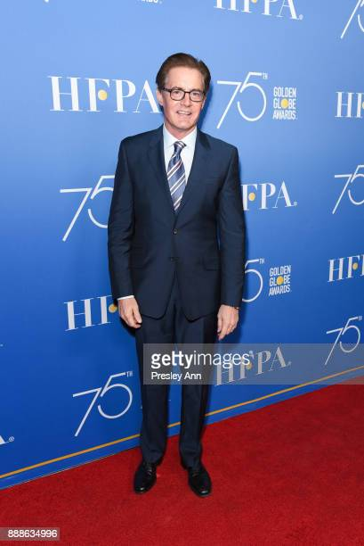 Kyle MacLachlan attends Hollywood Foreign Press Association Hosts Annual Holiday Party And Golden Globes 75th Anniversary Special Screening Arrivals...