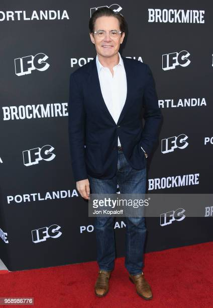 Kyle MacLachlan attends IFC Hosts Brockmire And Portlandia EMMY FYC Red Carpet Event at Saban Media Center on May 15 2018 in North Hollywood...