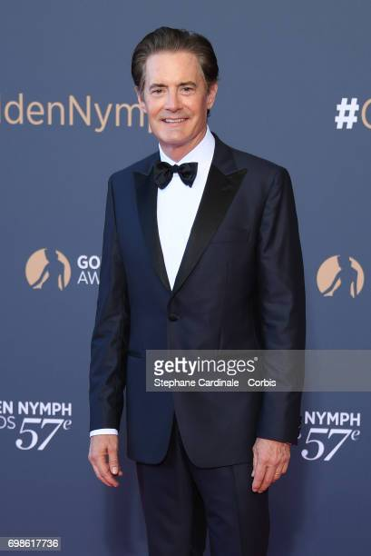 Kyle MacLachlan attends the 57th Monte Carlo TV Festival Closing Ceremony on June 20 2017 in MonteCarlo Monaco
