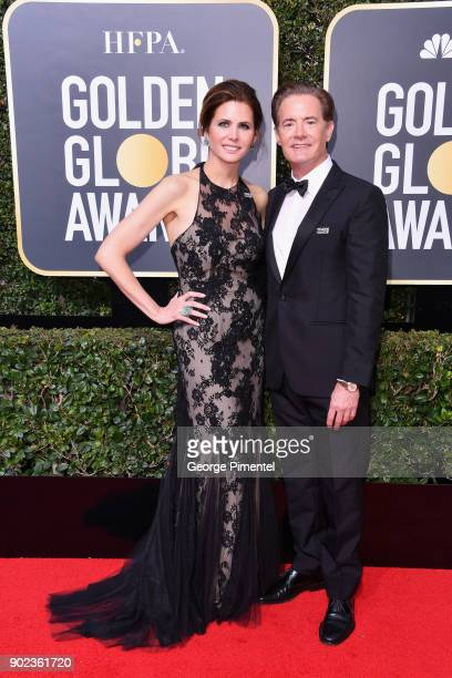 Kyle MacLachlan attends The 75th Annual Golden Globe Awards at The Beverly Hilton Hotel on January 7 2018 in Beverly Hills California