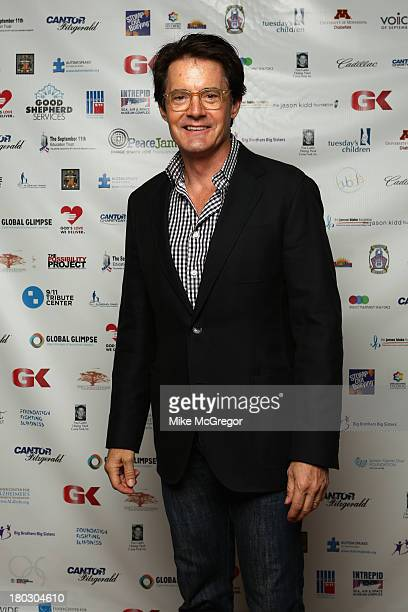 Kyle MacLachlan attends the Annual Charity Day Hosted By Cantor Fitzgerald And BGC at the Cantor Fitzgerald Office on September 11 2013 in New York...