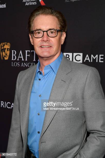 Kyle MacLachlan attends The BAFTA Los Angeles Tea Party at Four Seasons Hotel Los Angeles at Beverly Hills on January 6 2018 in Los Angeles California