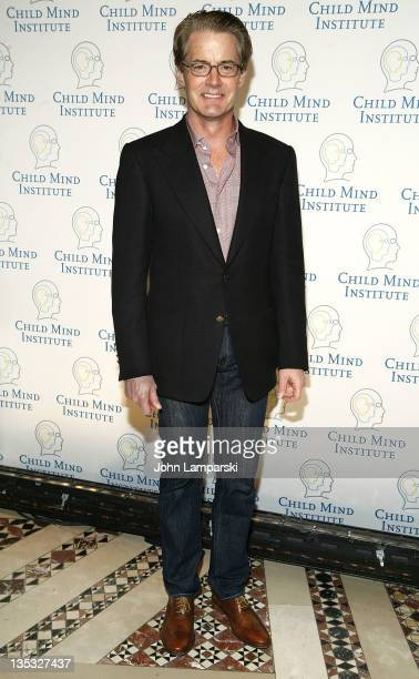 Kyle MacLachlan attends the Child Mind Institute's 2nd annual Child Advocacy Award Dinner at Cipriani 42nd Street on December 8 2011 in New York City