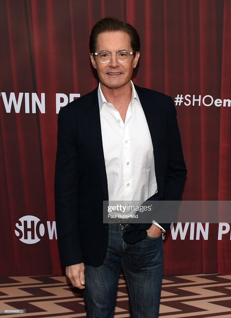 Kyle MacLachlan attends the For Your Consideration event for Showtime's 'Twin Peaks' at Paramount Theatre on May 2, 2018 in Hollywood, California.
