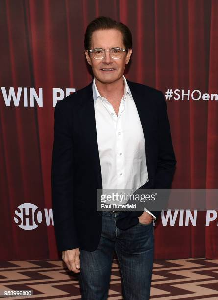 Kyle MacLachlan attends the For Your Consideration event for Showtime's Twin Peaks at Paramount Theatre on May 2 2018 in Hollywood California