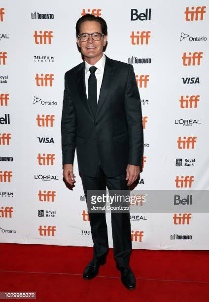 Kyle MacLachlan attends the Giant Little Ones premiere during 2018 Toronto International Film Festival at The Elgin on September 9 2018 in Toronto...