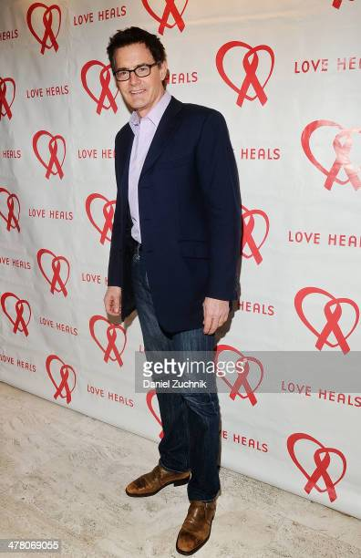 Kyle MacLachlan attends the Love Heals 2014 Gala at Four Seasons Restaurant on March 11 2014 in New York City