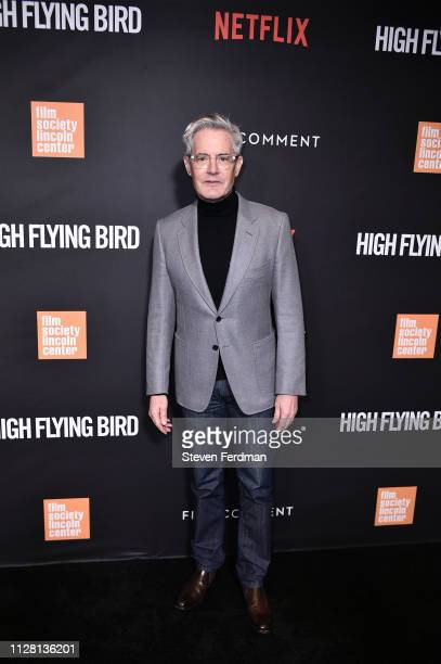 Kyle MacLachlan attends the Netflix High Flying Bird Film Comment Select Special Screening at Walter Reade Theater on February 07 2019 in New York...