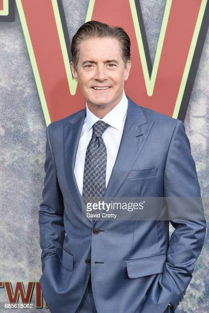 """Kyle MacLachlan attends the World Premiere Of Showtime's """"Twin Peaks"""" - Arrivals at The Theatre at Ace Hotel on May 19, 2017 in Los Angeles,..."""