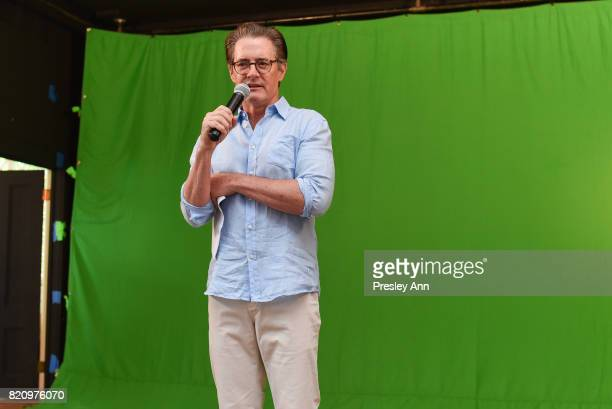 Kyle MacLachlan attends Third Annual Green Beetz Day at The Creeks on July 22 2017 in East Hampton New York
