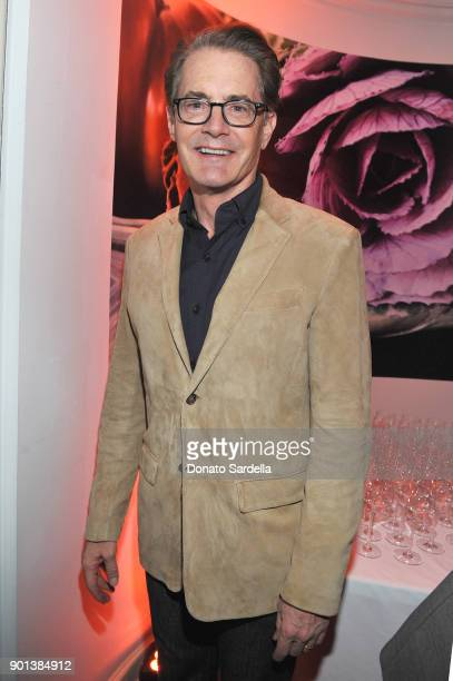Kyle MacLachlan attends W Magazine's Celebration of its 'Best Performances' Portfolio and the Golden Globes with Audi Dior and Dom Perignon at...