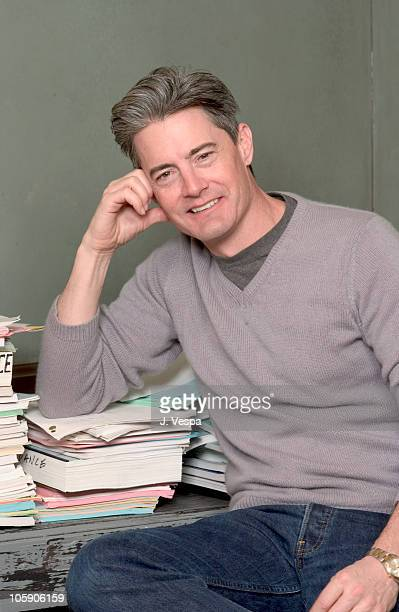 """Kyle Maclachlan during 2004 Sundance Film Festival - """"Touch of Pink"""" Portraits at HP Portrait Studio in Park City, Utah, United States."""