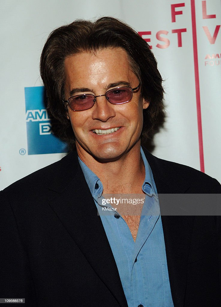 Kyle MacLachlan during 4th Annual Tribeca Film Festival - 'The Interpreter' Premiere - Inside Arrivals at Ziegfeld Theatre in New York City, New York, United States.