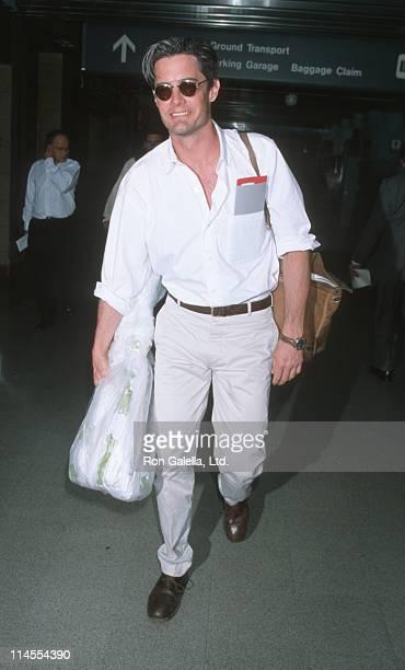 Kyle MacLachlan during Kyle MacLachlan Sighting at Los Angeles International Airport May 9 1998 at Los Angeles International Airport in Los Angeles...