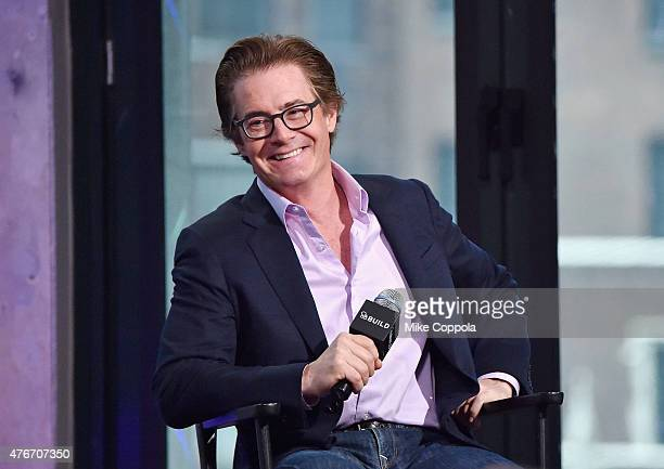 """Kyle MacLachlan speaks at the AOL BUILD Speaker Series: Kyle Maclachlan Discusses His New Film """"Inside Out"""" at AOL Studios In New York on June 11,..."""