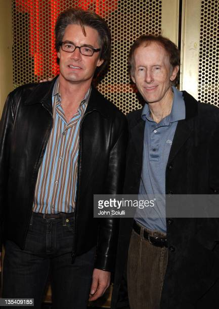 Kyle MacLachlan with Robby Krieger guitarist of The Doors