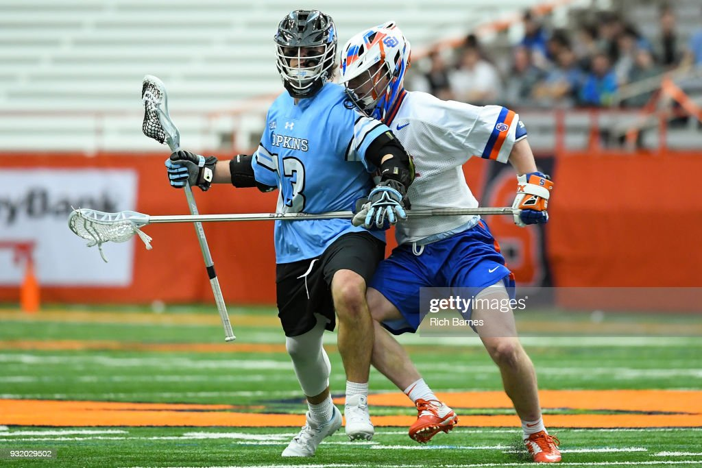 Johns Hopkins v Syracuse : News Photo