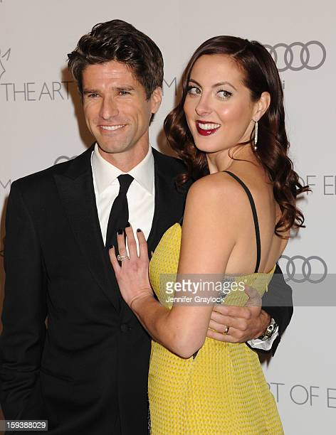 Kyle Martino and Actor Eva Amurri attend the Art Of Elysium's 6th Annual Heaven Gala held at the 2nd Street Tunnel on Saturday January 12 2013 in Los...