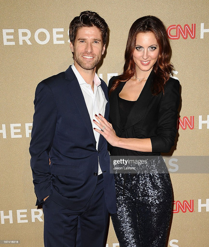 Kyle Martino and Eva Amurri attend CNN Heroes: An All-Star Tribute at The Shrine Auditorium on December 2, 2012 in Los Angeles, California.