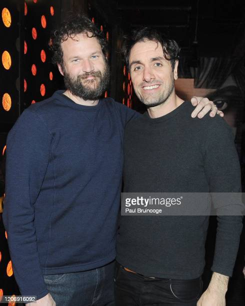 Kyle Marvin and Michael Angelo Covino attend Sony Pictures Classics And The Cinema Society Host A Special Screening Of The Climb at iPic Theater on...