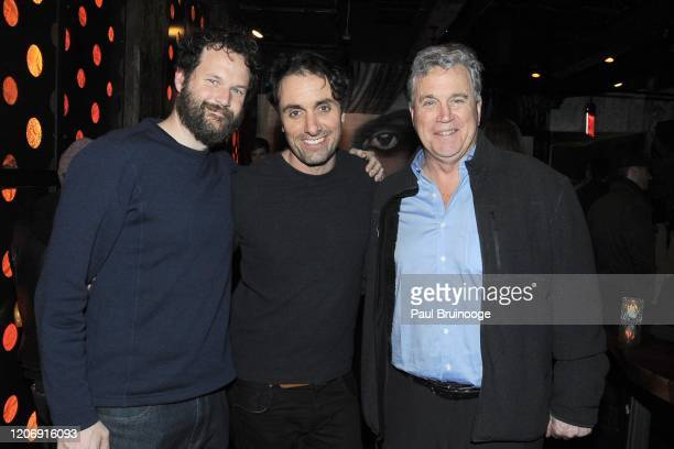 Kyle Marvin Michael Angelo Covino and Tom Bernard attend Sony Pictures Classics And The Cinema Society Host A Special Screening Of The Climb at iPic...