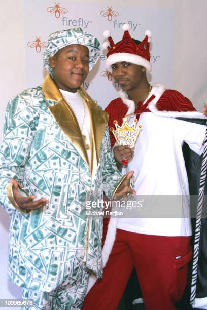 Kyle Massey and Christopher Massey during Firefly and Clothes Off Your Back Trick or Treat Hosted by Jane Kaczmarek and Bradley Whitford at Wattles...
