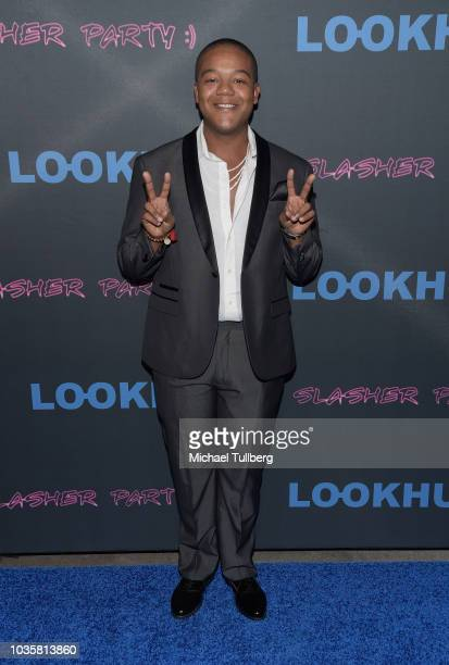 Kyle Massey attends the premiere party for LookHu's Slasher Party at ArcLight Hollywood on September 18 2018 in Hollywood California