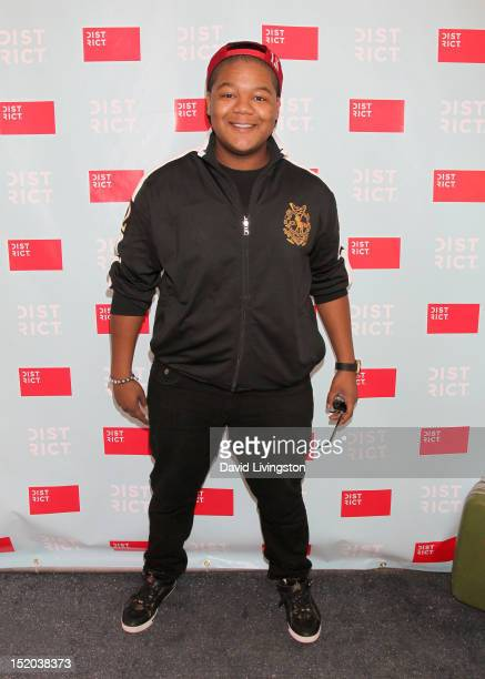 Kyle Massey attends Variety's Power of Youth presented by Cartoon Network held at Paramount Studios on September 15 2012 in Hollywood California