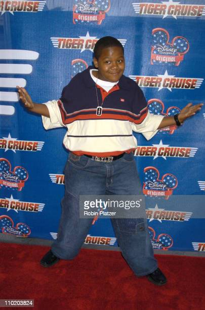 Kyle Massey during Disney Channel Presents The New York Premiere of Tiger Cruise at The Intrepid SeaAirSpace Museum in New York City New York United...