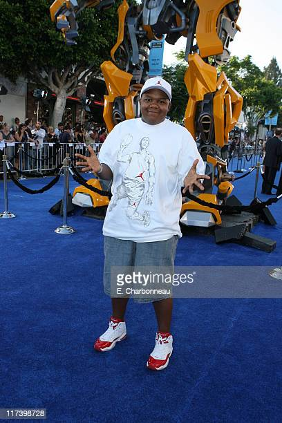 Kyle Massey during DreamWorks Pictures and Paramount Pictures Los Angeles Premiere of Transformers at Mann's Village Theater in Westwood California...