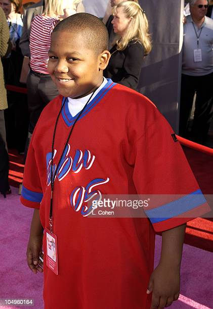 Kyle Massey during The Lizzie McGuire Movie Premiere at The El Capitan Theater in Hollywood California United States