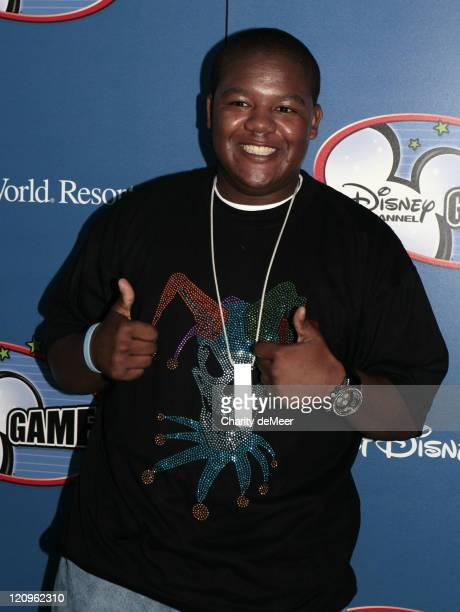 Kyle Massey of Cory in the House during Disney Channel All Star Party 2007 in Orlando Florida United States