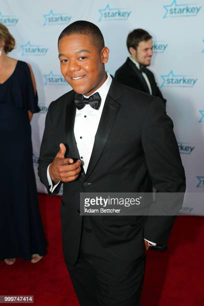 Kyle Massey walks the red carpet at the 2018 So the World May Hear Awards Gala benefitting Starkey Hearing Foundation at the Saint Paul RiverCentre...