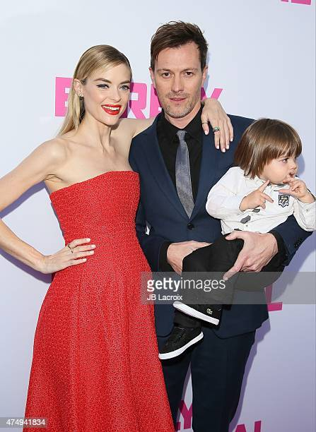 Kyle Newman James Knight Newman and Jaime King attend the 'Barely Lethal' Los Angeles Special Screnning on May 27 2015 in Hollywood California