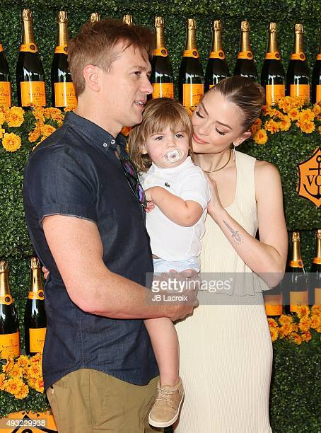 Kyle Newman James Knight Newman and Jaime King attend the SixthAnnual Veuve Clicquot Polo Classic at Will Rogers State Historic Park on October 17...