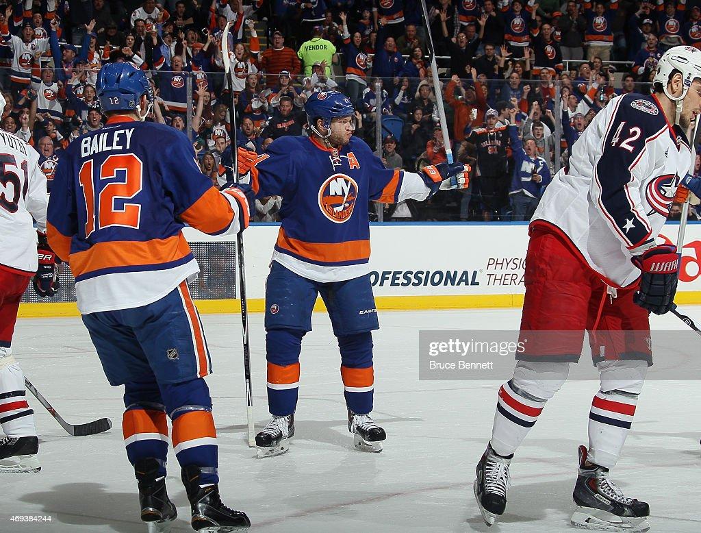 Columbus Blue Jackets v New York Islanders : News Photo