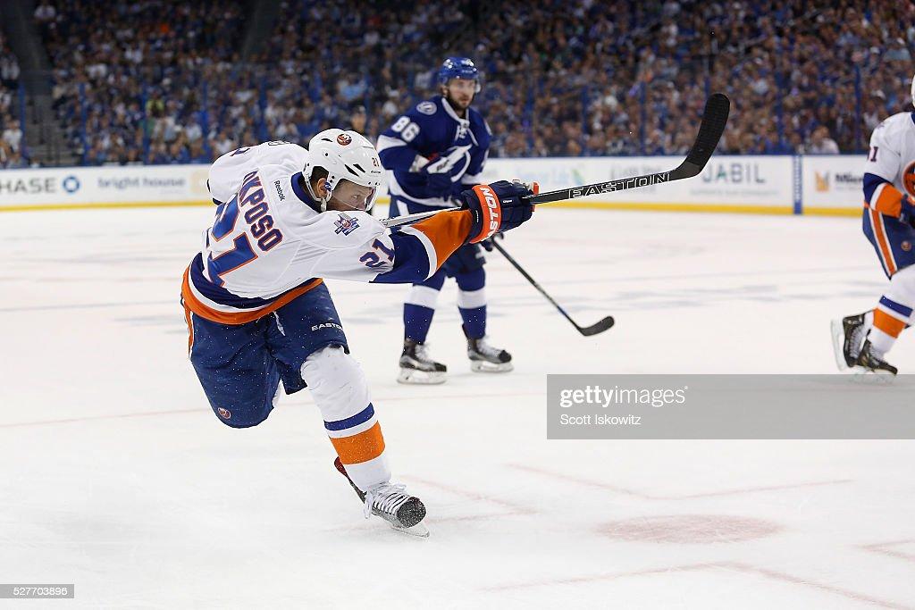 New York Islanders v Tampa Bay Lightning- Game Two : News Photo